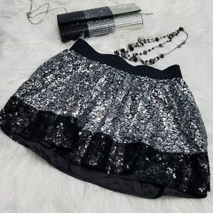 [Justice] Girl's Sequin Skirt Skirt Size 12